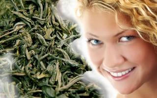 Применение зеленого чая для ухода за прядями