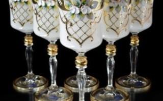 Как правильно ухаживать за Богемским стеклом