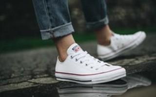 Несколько советов по чистке Converse