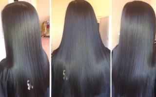 Средства для кератинового восстановления волос