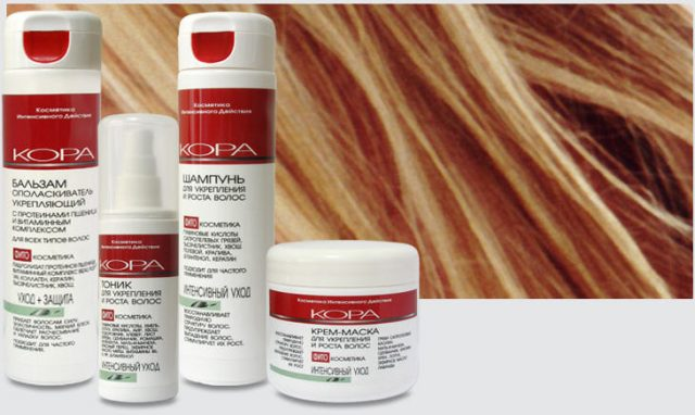 Шампунь «Кора» укрепит волосы и избавить от их выпадения