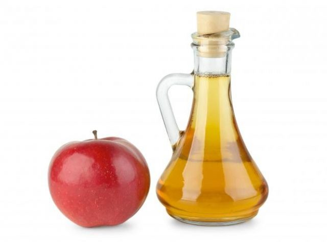 Яблочный уксус для волос - ополаскивание   7 масок