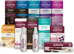 Спрей «Alerana» против выпадения локонов