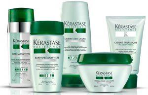 Профессиональная косметика Kerastase по уходу за волосами