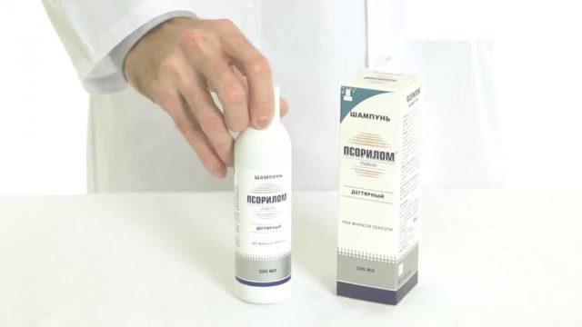 Как использовать шампунь Псорилом для волос?