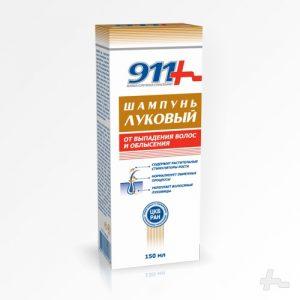 Шампунь от выпадения волос Луковый 911
