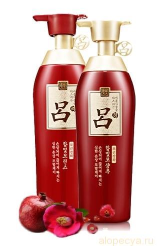 Корейский шампунь от выпадения волос