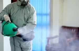 Дезинфекция помещений и воздуха с помощью пара